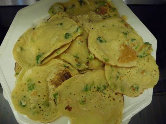 Parsley Pancakes