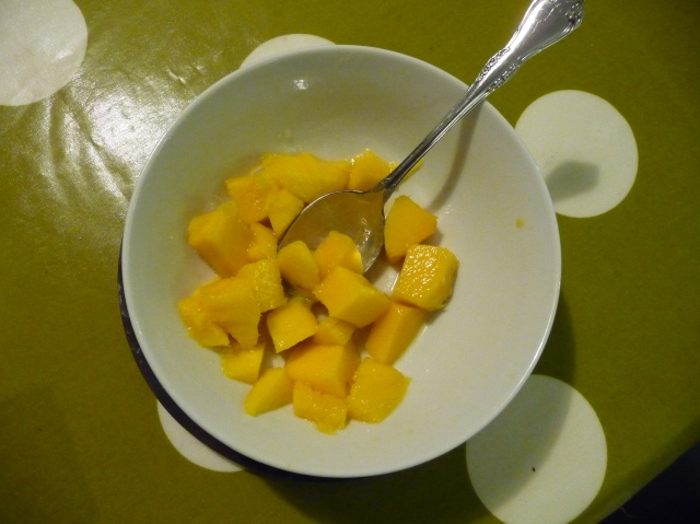 Mangoes With Lime