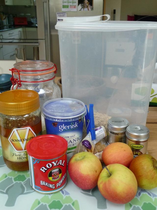 Apple Breakfast Muffins Ingredients