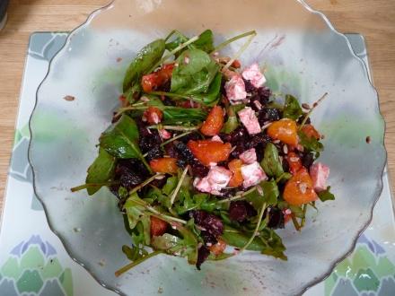 Beetroot, Orange and Feta Salad