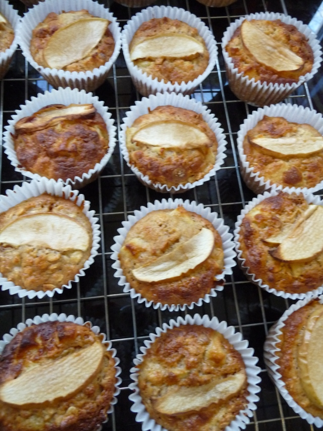 Baked Apple Muffins