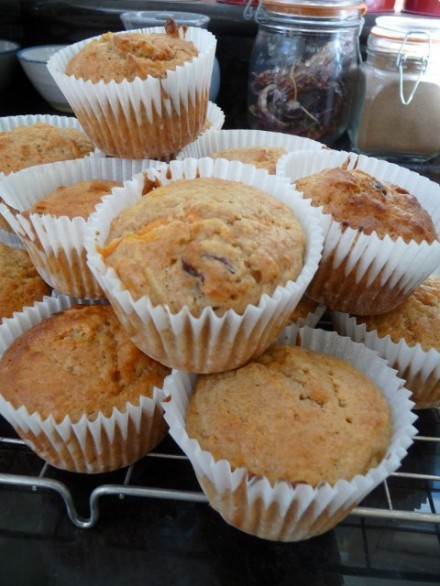 Cranberry Breakfast Muffins