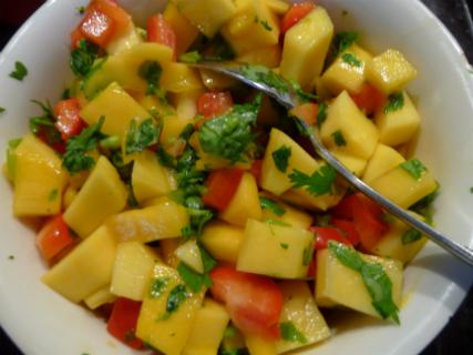 Mango and Pepper Salsa