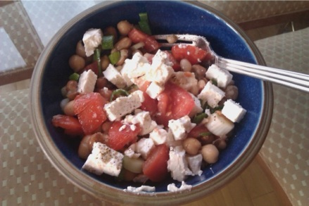Quick and Easy Bean Salad